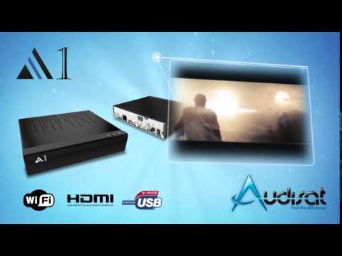Receptor Audisat A1 - iks sks Iptv web TV Full HD