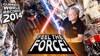 World's Largest Collection of Star Wars Memorabilia -- Guinness World Records 2014