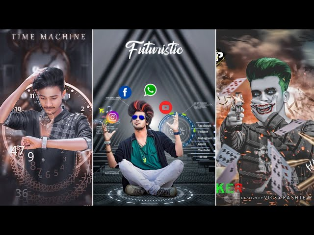 Rc Editz-FUTURISTIC INSTAGRAM VIRAL TRENDING PHOTO EDITING || PICSART LATEST NEW 2018 PHOTO EDITING