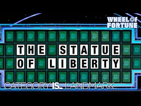 Category is... LANDMARK! | Wheel of Fortune - YouTube
