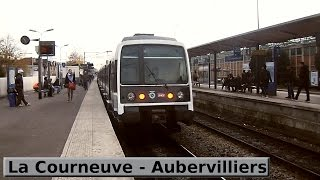 RER B | Paris : La Courneuve - Aubervilliers ( RATP MI79 - MI84 / SNCF Z8100 - Z8400 )