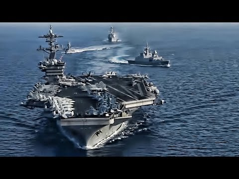 USS Theodore Roosevelt In The South China Sea (April 2018)