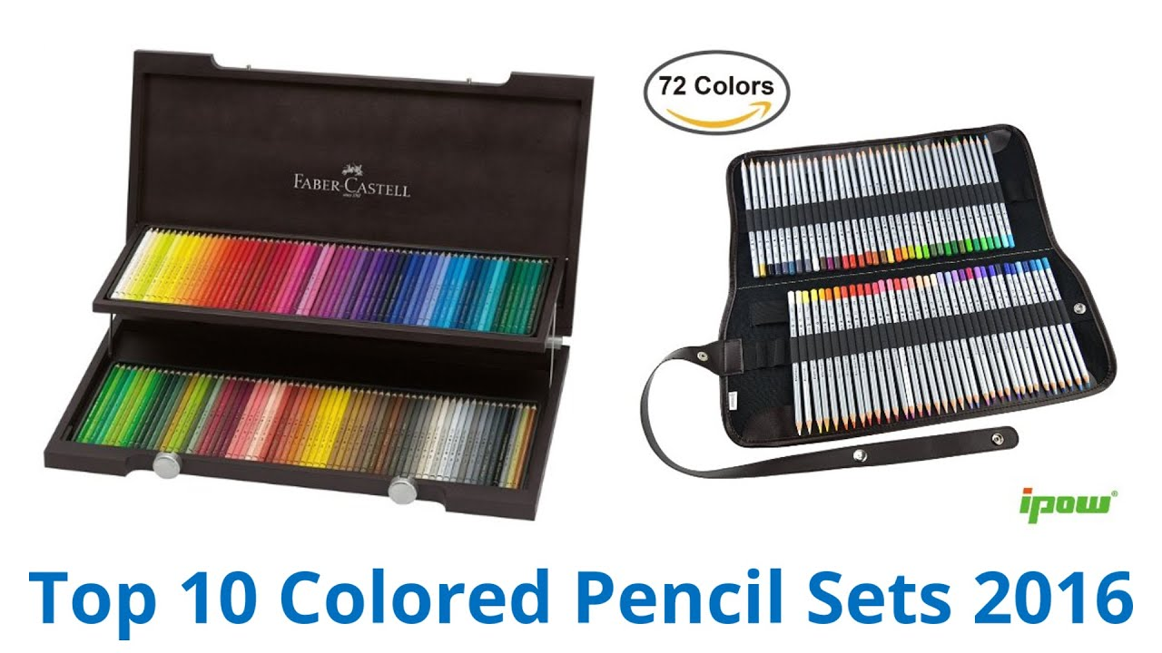 10 Best Colored Pencil Sets 2016 - YouTube