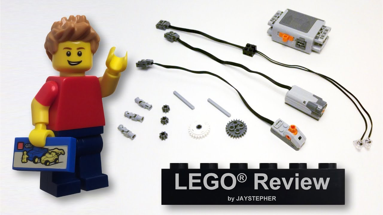 Lego Power Functions Motor Set Review