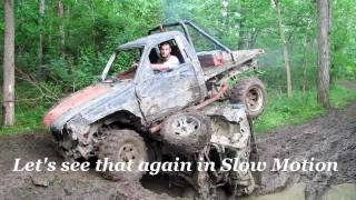 "Redneck Mudding With ""Go for Broke"" Toyota VS Ford"