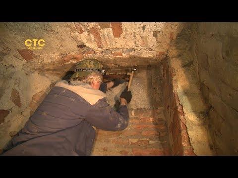 В Камерном театре обнаружили таинственные катакомбы