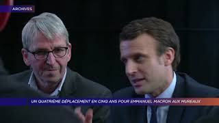 Yvelines | Un quatrième déplacement en cinq ans pour Emmanuel Macron aux Mureaux