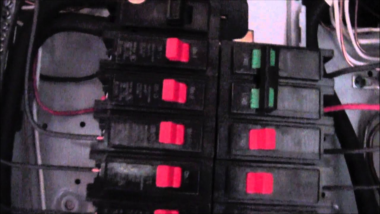 How To Disconnect Electrical Wiring From Breaker Box Service Panel Home Safely Youtube