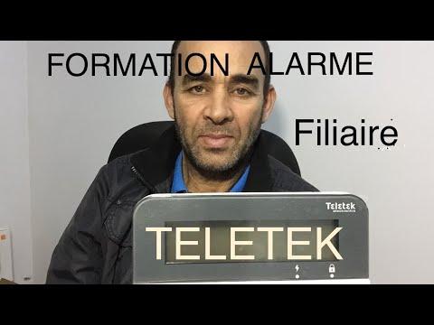 #1ere partie-Formation complète alarme antivol TELETEK Eclipse8-برنامج تعليمي-