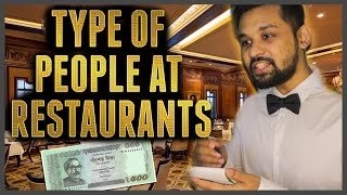 TYPES OF PEOPLE AT RESTAURANTS Bangla Funny Video || Raseltopuvlogs