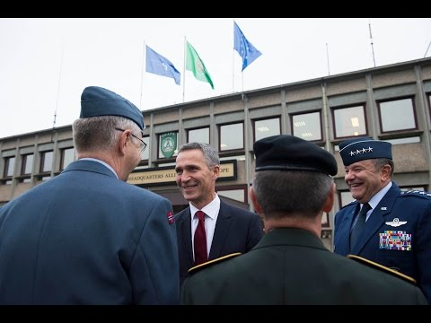 NATO Secretary General visits top Allied military command