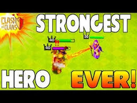 (HINDI) WHO IS THE MOST STRONGEST POWERFUL & BEST HERO IN CLASH OF CLANS