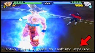GOKU vs JIREN, Dragon Ball TENKAICHI 4 (MODO HISTÓRIA) Batalha Completa!!