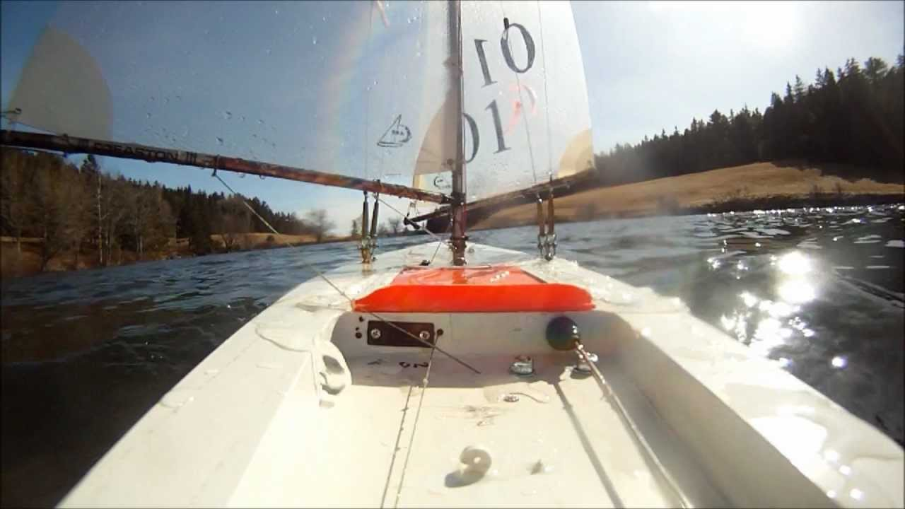 Victoria RC yacht re-christened, the JEM sails again, GoPro on board