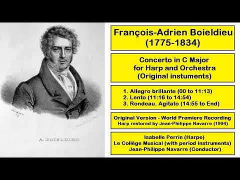Francois-Adrien Boieldieu (1775-1834) - Concerto in C Major for Harp and Orchestra