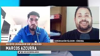 General Paz Juniors   Marcos Azcurra en El Show En La Red 07 09 2020