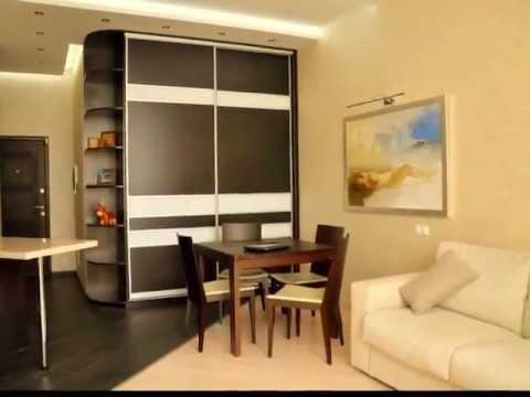 Дизайн однокомнатной квартиры в Минске, проекты 1