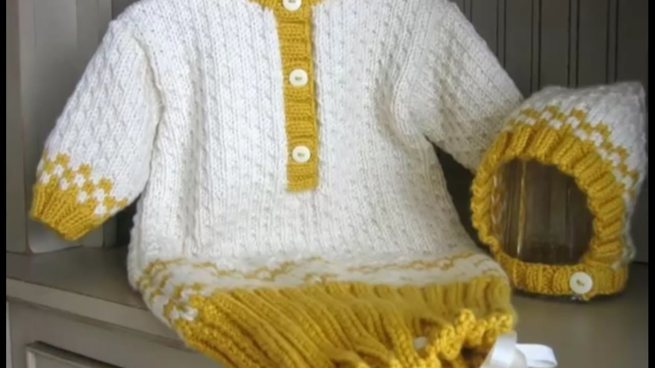 f576a93ca023 Two colour Sweater Design for Baby