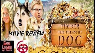 TIMBER THE TREASURE DOG ( 2018 Kix Brooks ) Family Movie Review