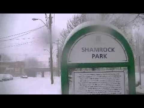 A Winter Walk Through the Corktown District of Hamilton, Ontario, Canada - part one