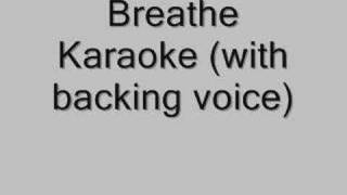 Breathe Karaoke (with backing) Blu Cantrell feat. Sean Paul