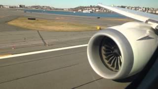 787 Takeoff BOS-NRT