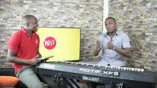 Joel Lwaga katika Interview na Nathanael Bampele, ndani ya studio za wemusic