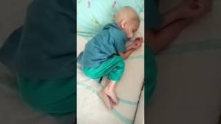 Кирюша после трёх приступов рвоты