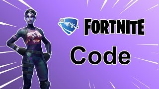 CODE DE CARTE CRÉATIF DE LA NEW -FORTNITE ROCKET LEAGUE !