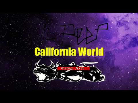 Lil Peep ft. Craig Xen - California World (Sub. Español)