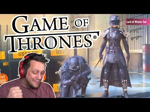 GAME OF THRONES CRATE OPENING in PUBG MOBILE