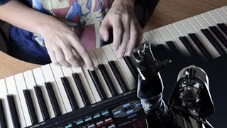 """""""Имперский марш"""" на пианино (обучение) / How to play """"The Imperial March""""  on piano"""
