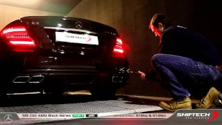 Reprogrammation moteur - MB C63 AMG Black Series 497hp @ 516hp - Amazing HMS exhaust sound !