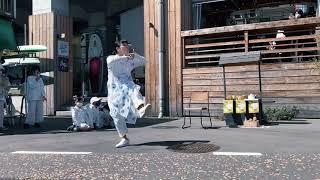 FOOD ART STATION、パンとコーヒーのダンス