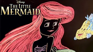 The Little Mermaid ♫ 8 Hours of Womb Sounds + Lullaby + Chalk Art