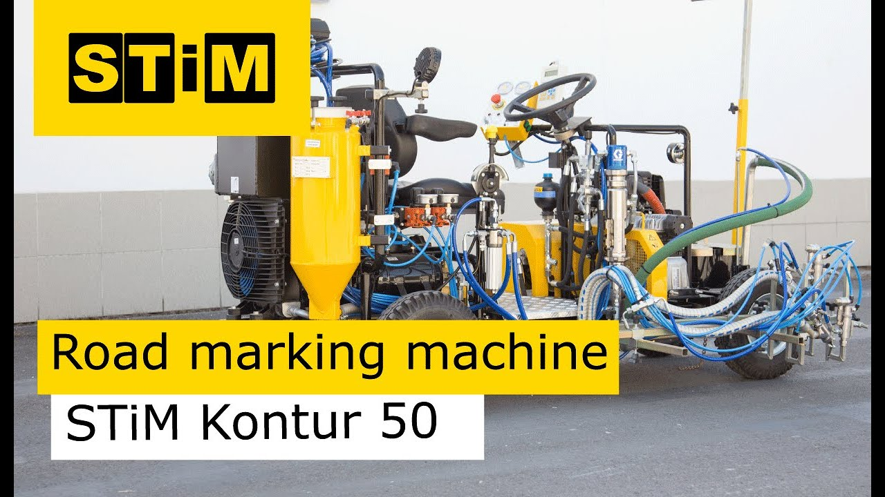 road marker machine