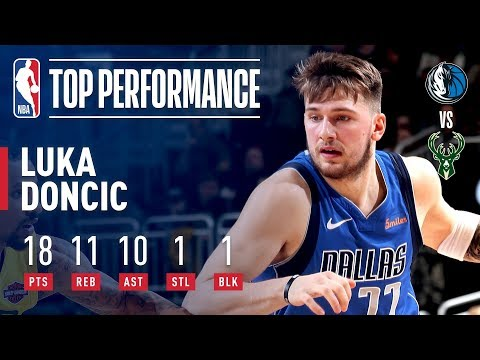 Luka Doncic Records His FIRST Career Triple-Double | January 21, 2019 thumbnail
