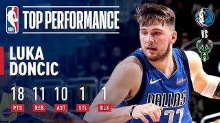 Luka Doncic Records His FIRST Career Triple-Double | January 21, 2019