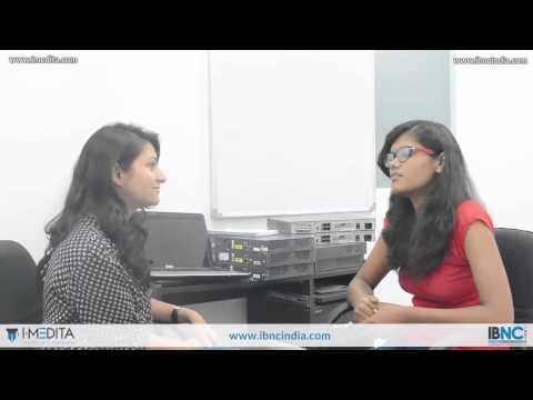 Mamta Joshi, student of GITM Gurgaon, speaks about her experience of CCNA Training with I-Medita