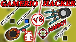 GAMERIO VS HACKERS ! | SURVIV.IO