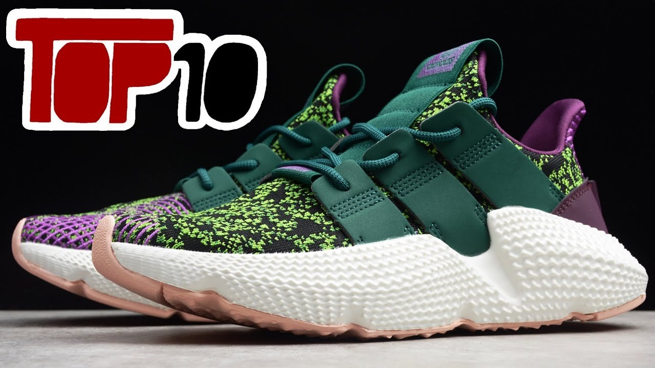 Top 10 Adidas Shoes Of 2018 - YouTube