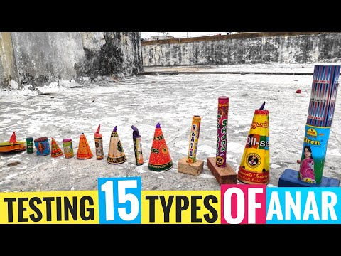 Testing Different types of Anar (Flower pots)2019/Diwali crackers testing||CY