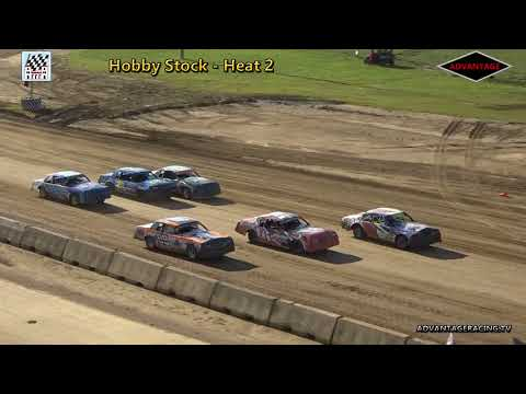 Hobby Stock Heats - Clay County Speedway - 7/8/18