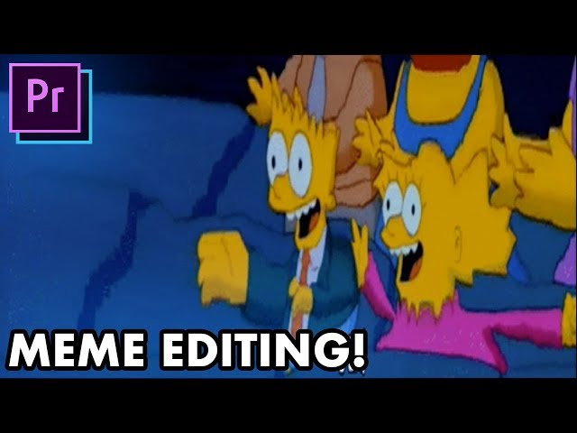 5 Essential MEME Video Editing Techniques! - (Adobe Premiere Pro, Photoshop Tutorial How To)