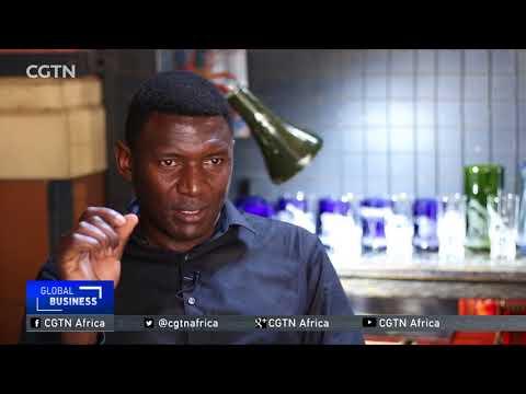 Kenyan-born artist earns a living through glass engraving in Tanzania