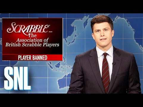 Thumbnail: Weekend Update on a Cheating Scrabble Player - SNL
