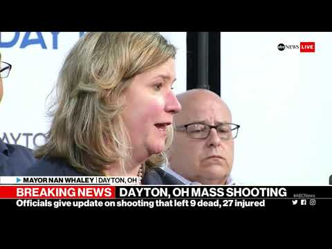 Dayton, Ohio shooting: Officials give update on mass shooting in downtown area| ABC News
