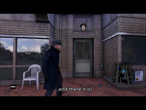 Watch Dogs 1 - Revisiting Owl Motel After Finishing Story