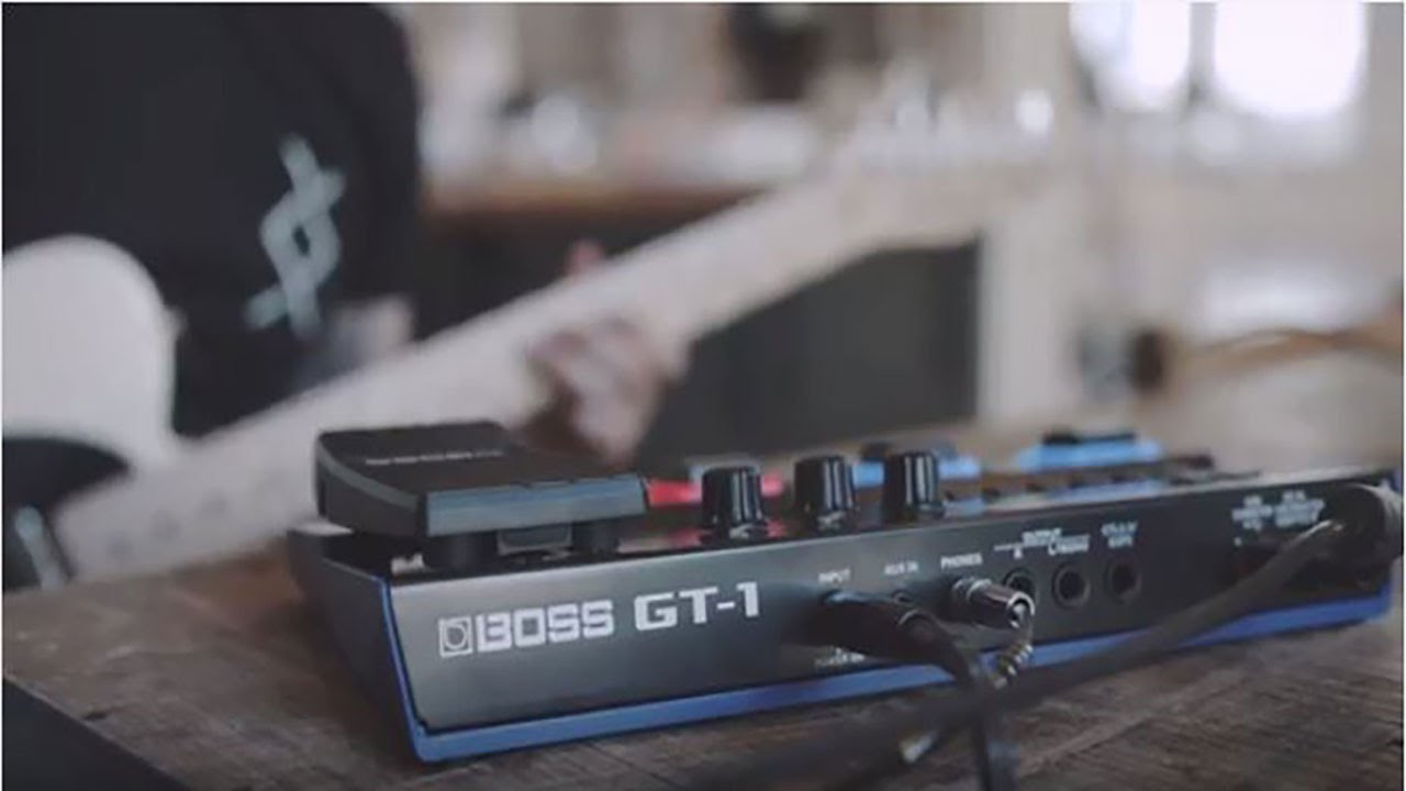boss gt 1 guitar effects processor youtube. Black Bedroom Furniture Sets. Home Design Ideas
