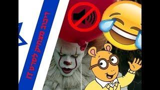 IT ארתור נגד הליצנים + דיבוב מצחיק לסרט